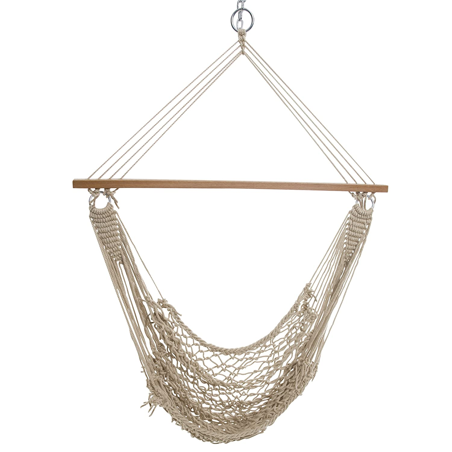 Amazon.com : Castaway Single Cotton Rope Swing : Outdoor And Patio  Furniture : Patio, Lawn & Garden - Amazon.com : Castaway Single Cotton Rope Swing : Outdoor And Patio