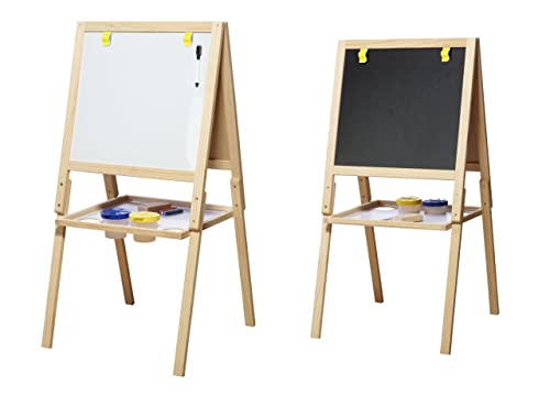 Childrens Easel Chalkboard Amp Whiteboard With Paper Roll
