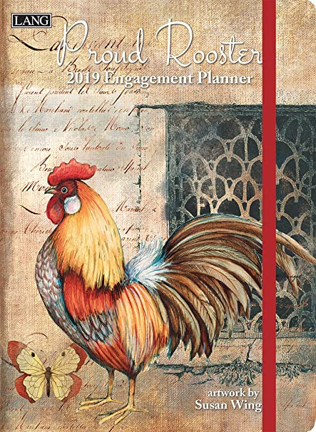 proud rooster 2019 calendar includes free wallpaper download