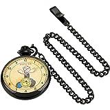 Invicta Men's Quartz Stainless Steel Casual Watch, Color:Black (Model: 24661)