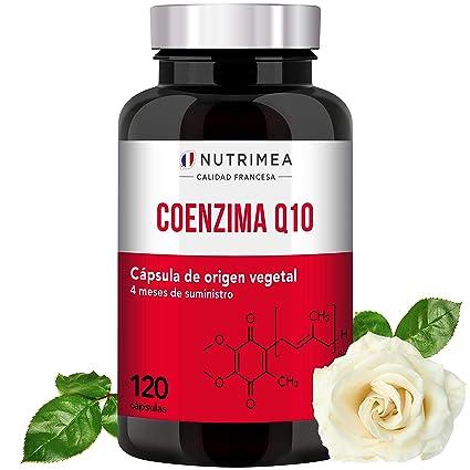 Coenzima Q10 Piel Huesos Potente Antioxidante Colesterol CoQ10 Anti Edad Regenerador Celular Arrugas Lineas de Expresión Ubiquinona Tratamiento 4 ...