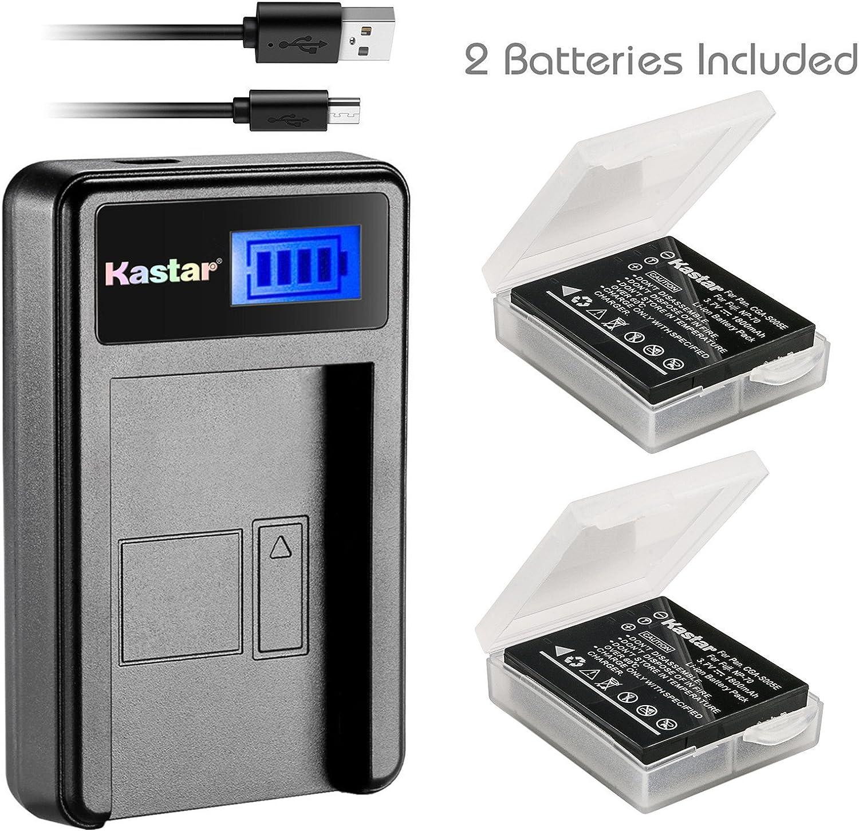 LCD Micro USB Battery Charger For Panasonic Lumix DMC-FX50 DMC-FX100 Digital Camera