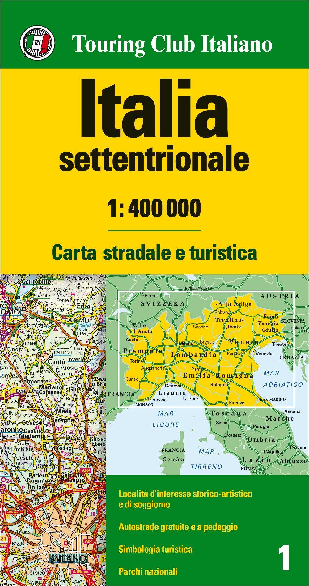 Italia Cartina Con Le Regioni