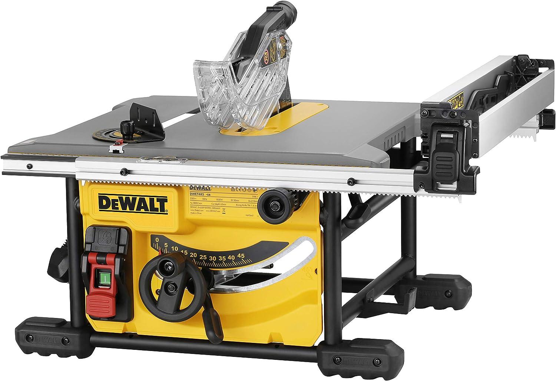 Dewalt DWE7485RS-QS - Sierra circular de mesa (210 mm, incluye ...