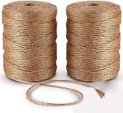 Cordón para manualidades cuerda 2 x 100 m 6 capas xutong cuerda ...