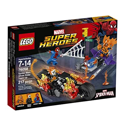 LEGO Marvel Super Heroes Spider-Man: Ghost Rider Team-up 76058 Spiderman Toy: Toys & Games
