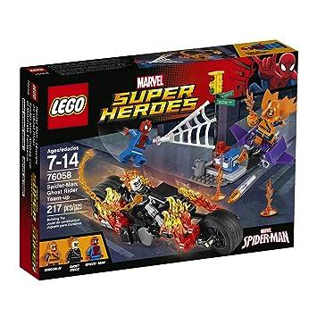 LEGO Marvel Super Heroes Spider-Man: Ghost Rider Team-up 76058 ...