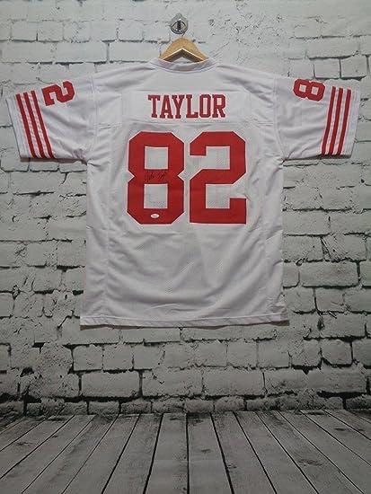 87d26029c John Taylor Signed Jersey - white Witness - JSA Certified ...
