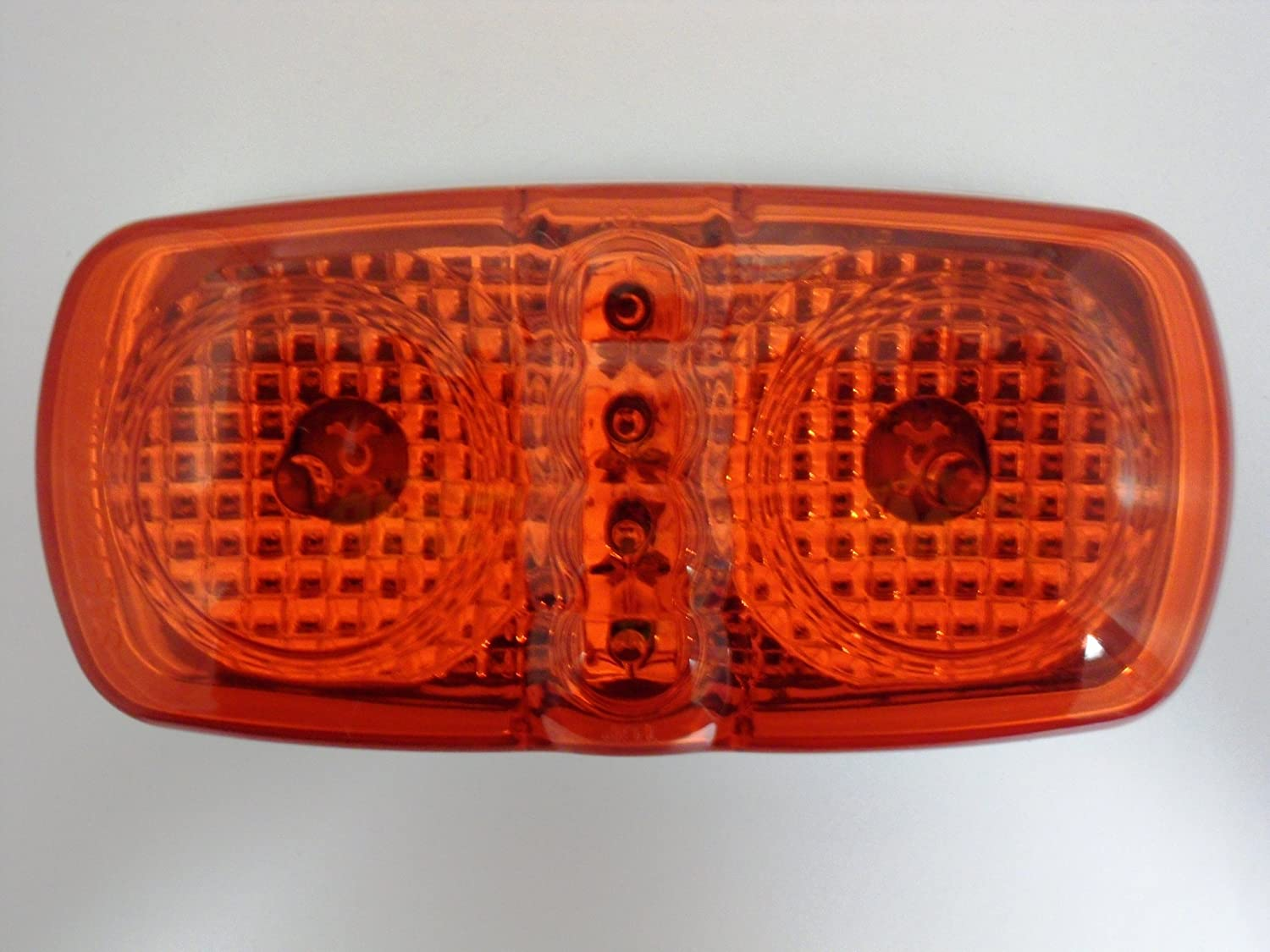 AutoSmart KL-15104R Red Duo LED Clearance//Side Marker Light