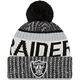 New Era NFL Oakland Raiders - Bonnet à Revers - Noir/Blanc