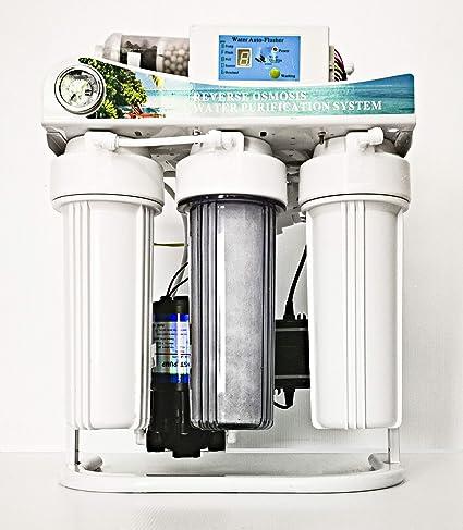 Purificador de agua de ósmosis inversa con depósito y ...