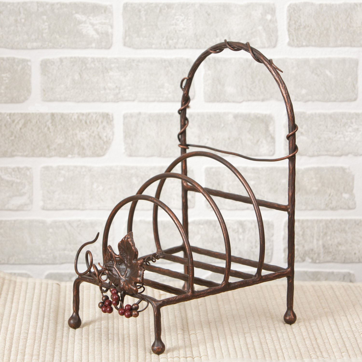 Amazon.com - Your Heart\u0027s Delight Tuscan Decorative Plate Rack 7 by 12-1/2 by 8-Inch - Dish Racks & Amazon.com - Your Heart\u0027s Delight Tuscan Decorative Plate Rack 7 by ...
