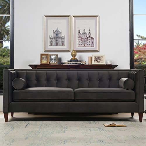 Jennifer Taylor Home Jack Collection Modern Hand Tufted Upholstered Sofa