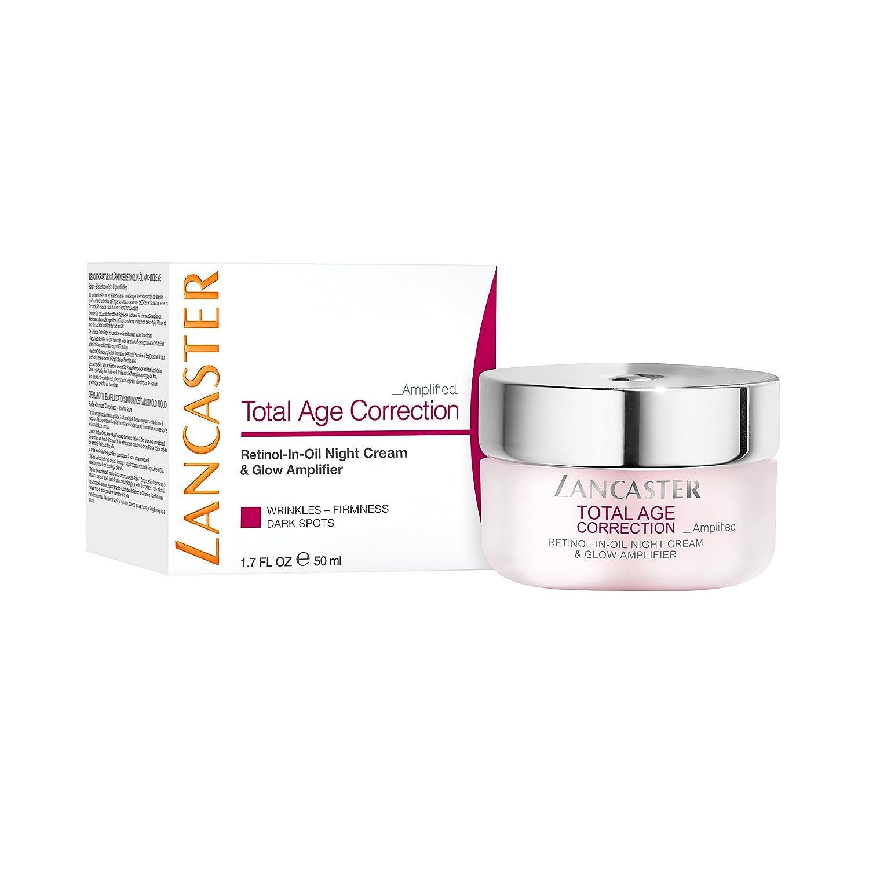 Lancaster Total Age Correction Amplified - Retinol-In-Oil Night Cream & Glow Amplifier Devita Rx, AV Gentle Balance Clnsr&Makeup Rem 4 oz