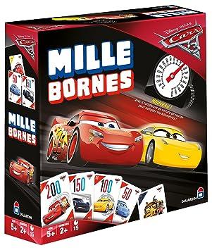 Dujardin Mille Bornes Cars 3 Juego de emparejar Cartas ...