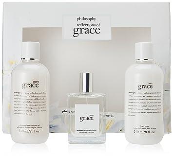 Amazon.com : Philosophy Pure Grace Reflections of Grace 3 Piece ...