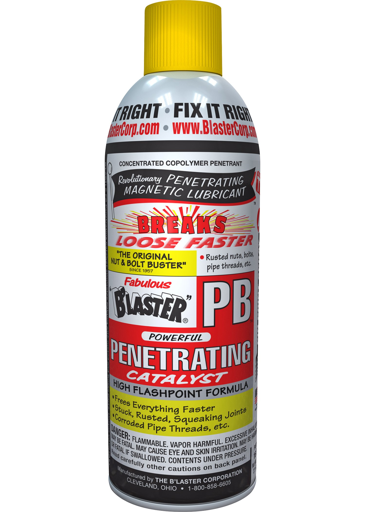 B'laster 16-PB-12PK Penetrating Catalyst - 11-Ounces - Case of 12 by B'laster
