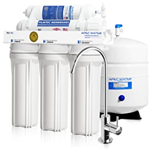 APEC Water - Top Tier - Built in USA Reverse Osmosis System (RO-90)