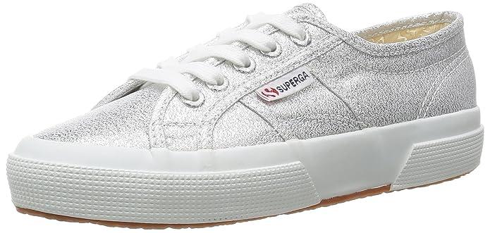 Superga Scarpe Sneaker LAMEW CLASSIC SILVER ARGENTO 2750 tg. 36