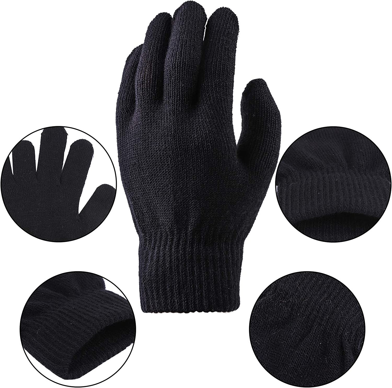Include Striped Long Sleeve T-shirt Knit Cap Gloves Canvas Bags and Eye Mask/… URATOT Halloween Robber Costume Set