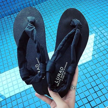 HYLR Zapatillas de señoras de la Manera Chanclas de la Yoga ...