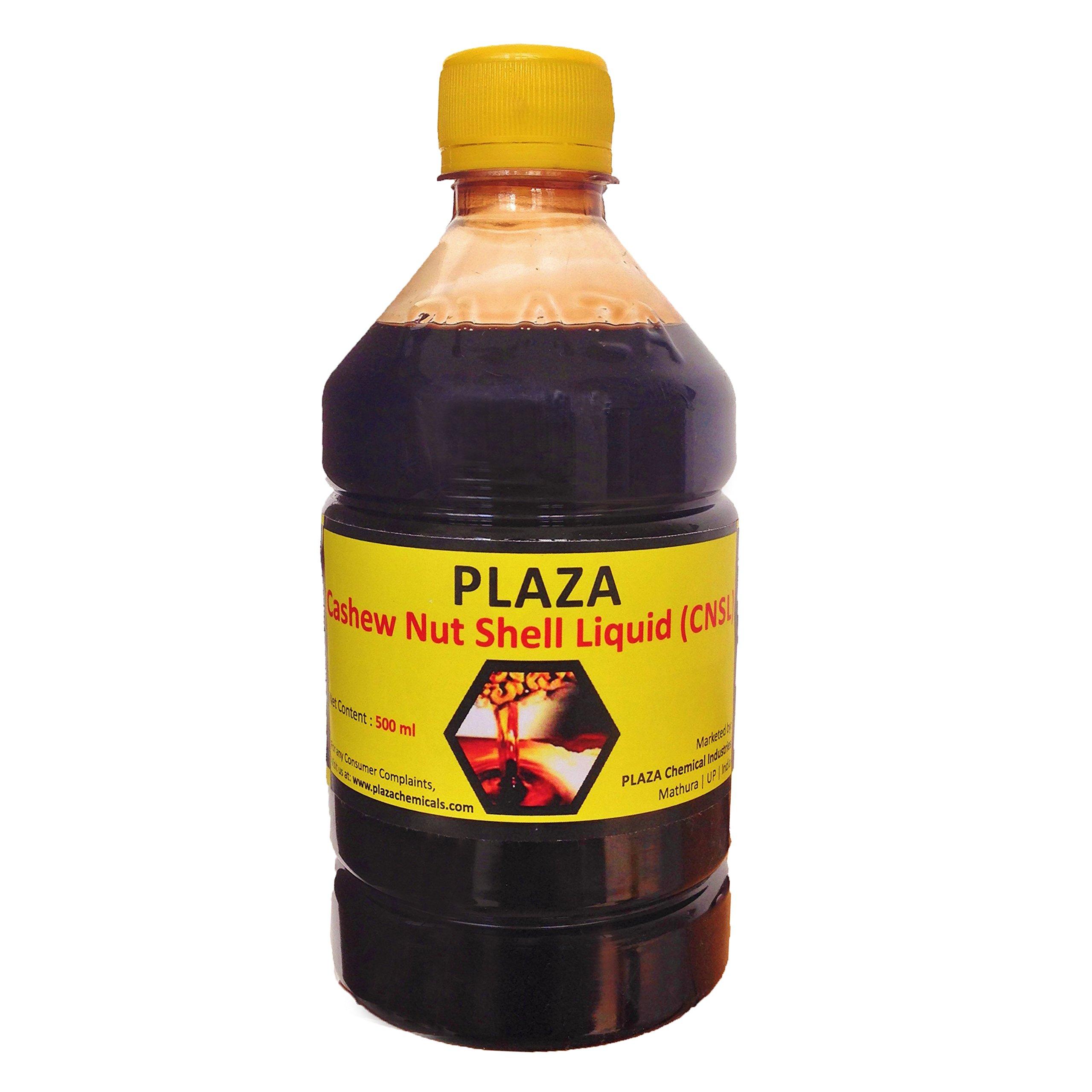 PLAZA - Cashew Nut Shell Liquid Oil (CNSL Oil) - 500 ml Pack