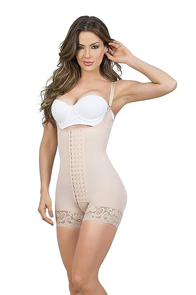 8db2aac3a1fd5 Fajas Colombianas Post Surgery 9334 Boyshort  Amazon.ca  Clothing ...