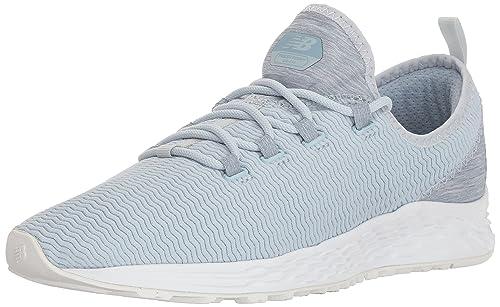 New Balance Zapatillas de Running de competición de Piel sintética Mujer, Color Azul, Talla 37 W EU