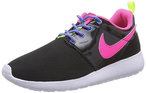 Nike Girls' Roshe One (GS) Low-Top Sneakers, Black (Black