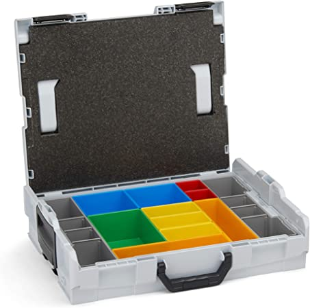 Sortimo Insetbox A3 rot für L-Boxx 102 und i-Boxx 20 Stück Maße B52 X T52 X H63