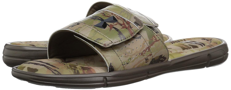 3cf9f17ac17c Amazon.com  Under Armour Men s Ignite Ridge Reaper Slide Sandal  Shoes