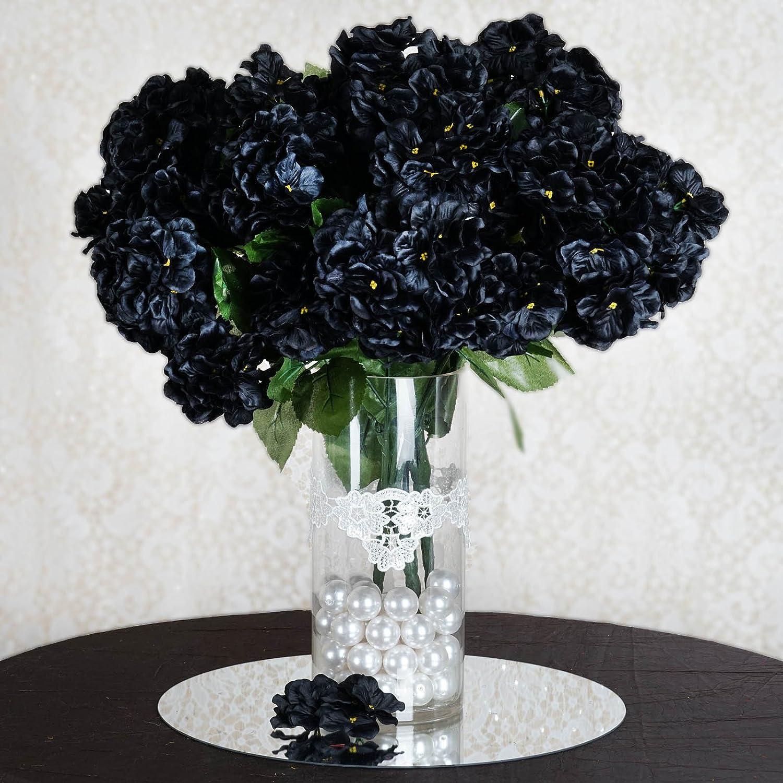 Amazon Balsacircle 28 Black Silk Hydrangeas 4 Bushes