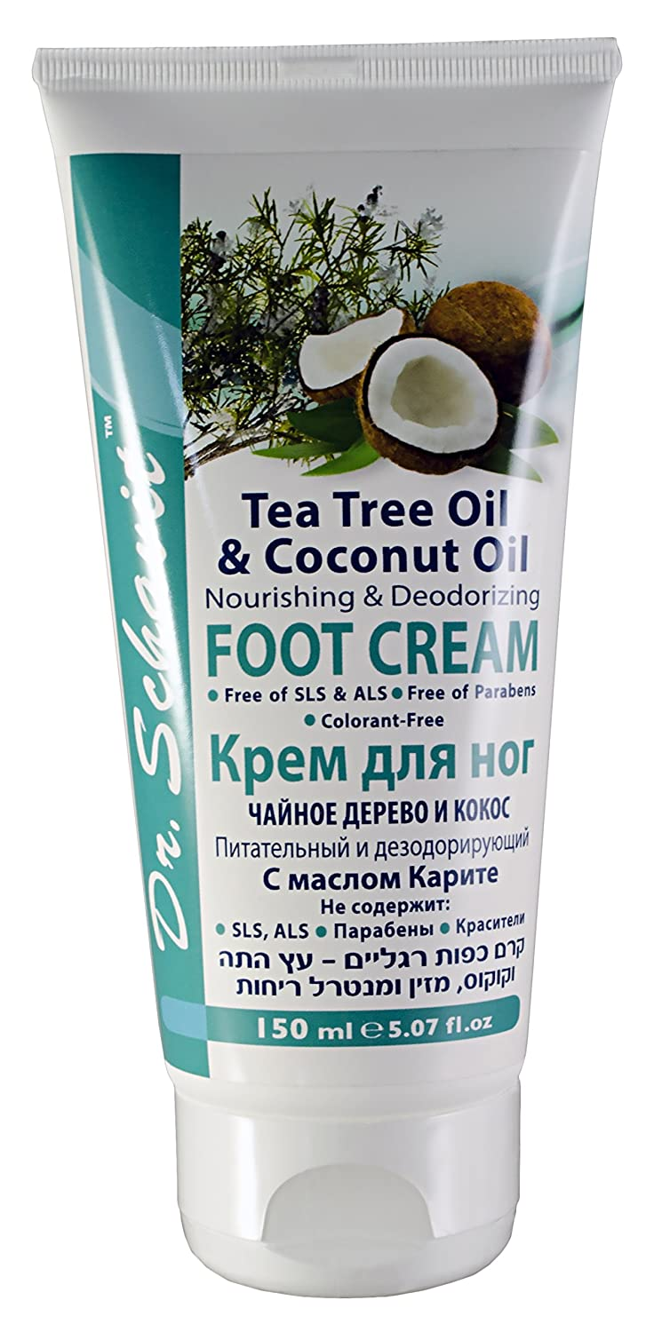 coconut oil foot cream
