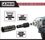 ARES 70056 - 1/2-Inch 4-Piece Flip Lug Socket Set