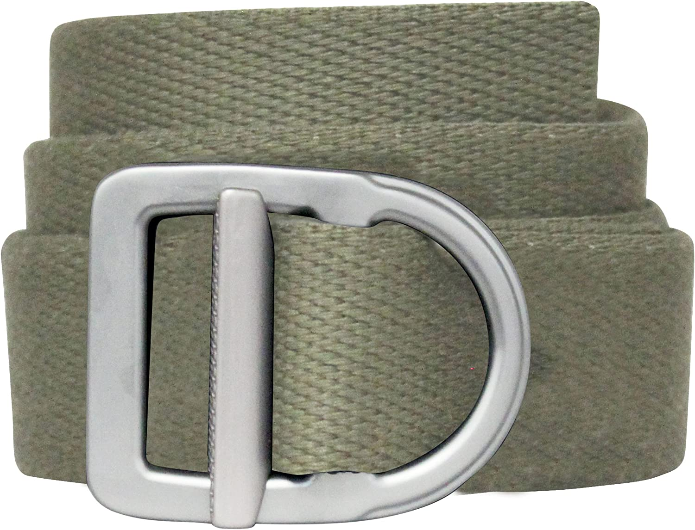 Bison Designs 38mm wide Light Duty Last Chance Belt with Gunmetal Buckle