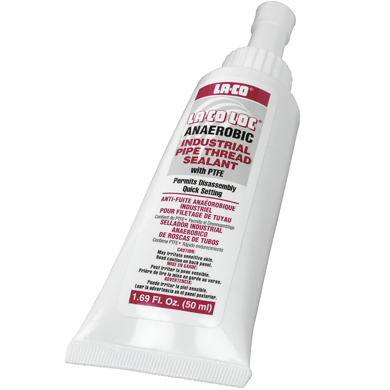 LA CO Anaerobic Pipe Thread Sealant 65 to 400 Degree F Temperature 50 ml
