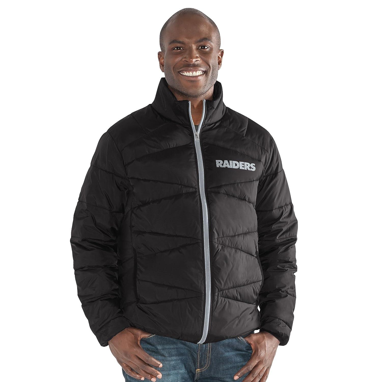 Black Small NFL Mens The Blitz Full Zip Packable Jacket