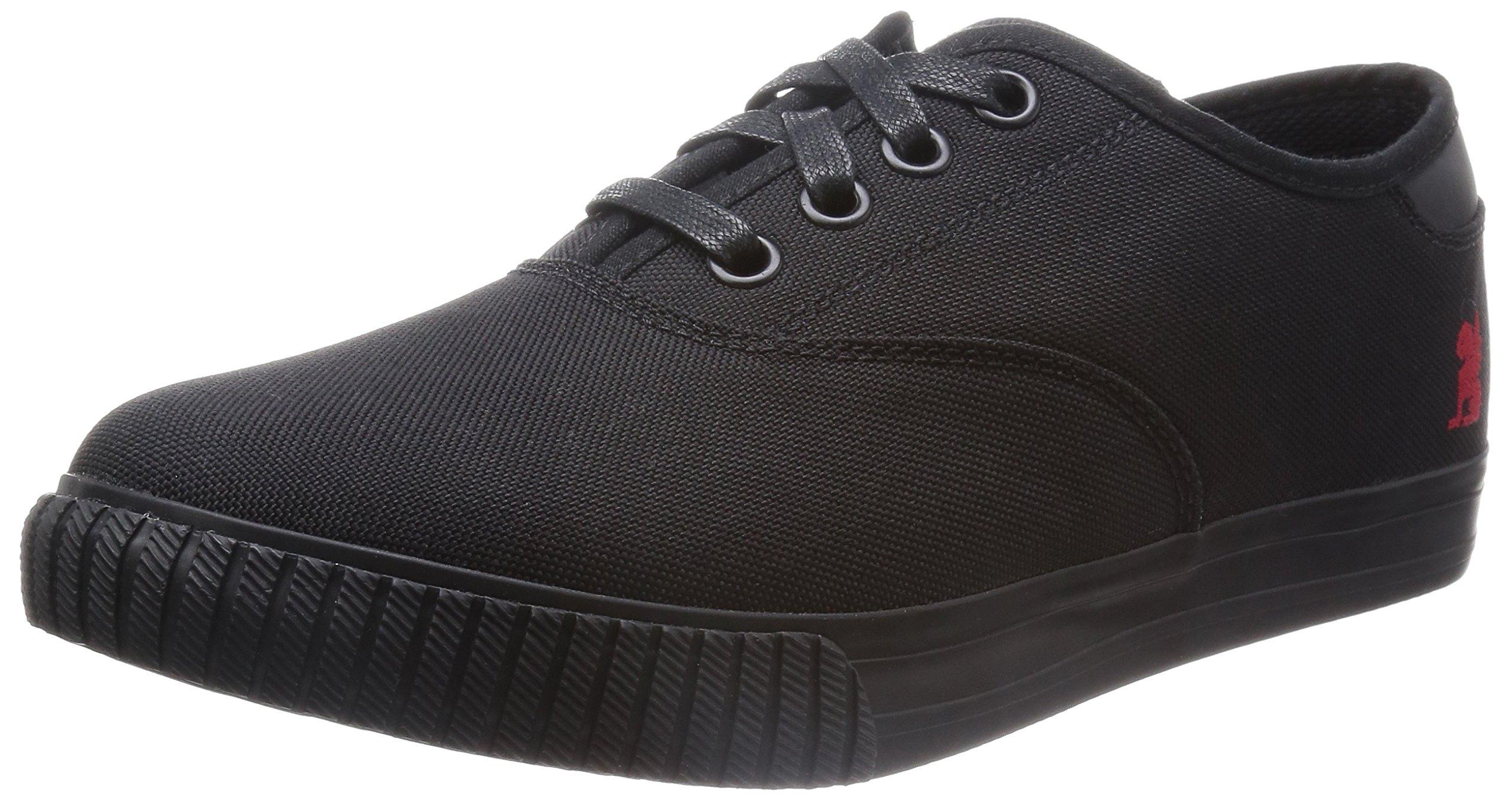 Chrome Unisex Truk Pro Black/Black Sneaker Men's 7, Women's 8.5 Medium