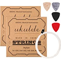 2 Juegos de Cuerdas de Ukulele de Nylon