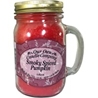 Our Own Candle Company Smoky Spiced Pumpkin Scented 13 Ounce Mason Jar Candle