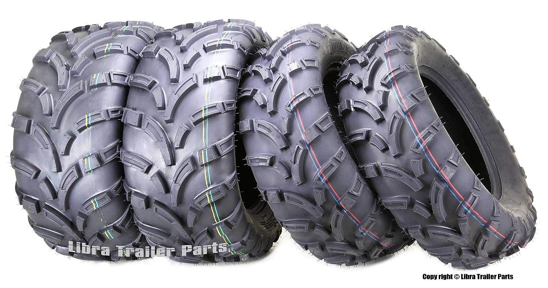 Set of 4 New WANDA ATV//UTV Tires 24x8-12 Front /& 24x10-11 Rear //6PR P373 /…