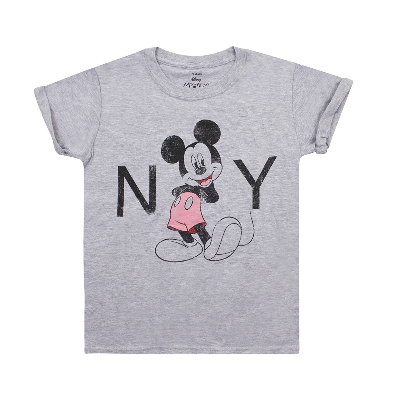 Disney New York T-Shirt Bambina