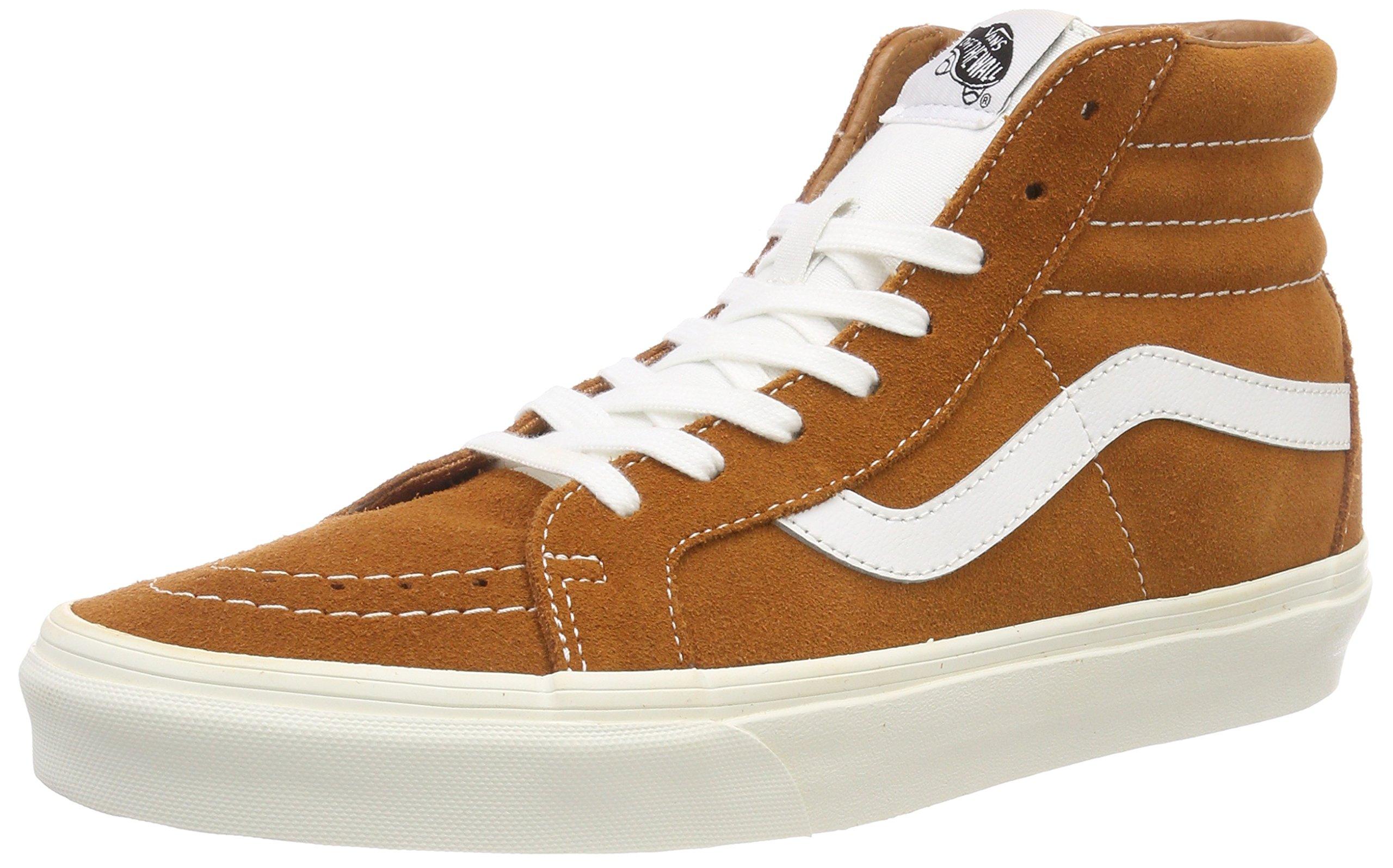 8c7863a9a58548 Galleon - Vans Sk8Hi Reissue Retro Sport Shoes 9.5 B(M) US Women 8 D(M) US  Glazed Ginger