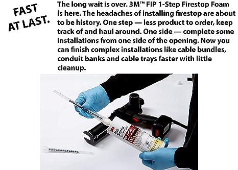 Amazon.com: 3M Espuma apta como barrera contra el fuego, FIP ...