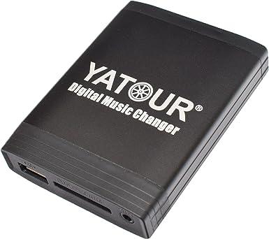 5008 RT3 Software from 6.x Yatour Yatour Adaptateur USB//SD//AUX//MP3 pour RD4 C3 Pluriel RT4 Radio des mod/èles suivants : Citroen: C2 Expert C8 1007 C6 Berlingo Partner 407 308 807 607 4007 C4 Picasso 307 Jumpy // Peugeot 207 C5