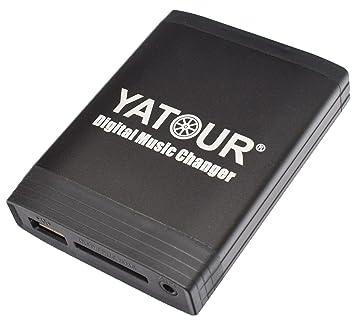 Yatour - Adaptador para radios de coche TOYOTA: Auris, Avensis T25 03-09, Corolla Verso 120 ...