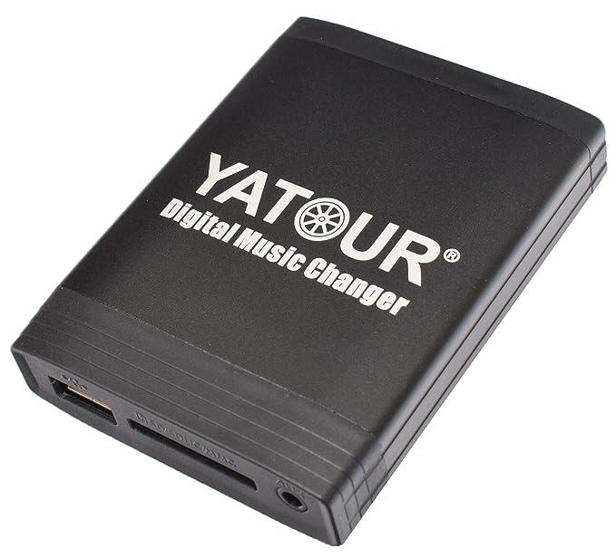 2 opinioni per Yatour YT-M06–Adattatore e Dispositivo vivavoce Bluetooth per autoradio di
