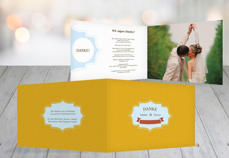 Kartenparadies Danksagung für Hochzeitsgeschenke Hochzeitsgeschenke Hochzeitsgeschenke Hochzeit Danke Harmonie, hochwertige Danksagungskarte Hochzeitsglückwünsche inklusive Umschläge   10 Karten - (Format  148x105 mm) Farbe  Sonnengelb B01N5RUXTA | Verschiedene  | Offizie 4faf6e