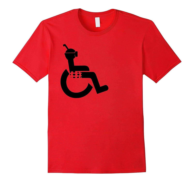 Disabled Wheelchair Snorkel Scuba Dive T-shirt men Women Kid-TH