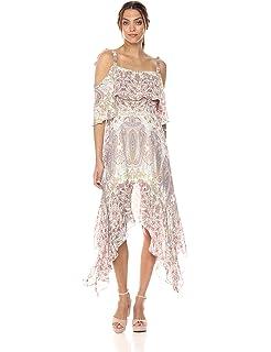 0c11891ec0fdb Amazon.com: BCBGMAXAZRIA Women's Lissa Asymmetrical Slip Dress: Clothing